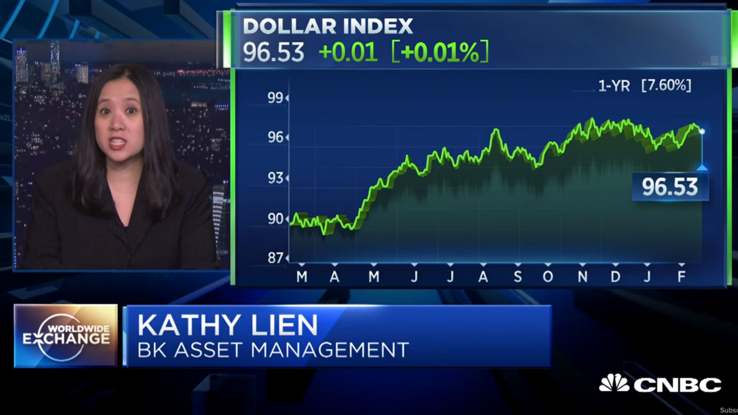 Kathy Lien: The dollar is past its prime