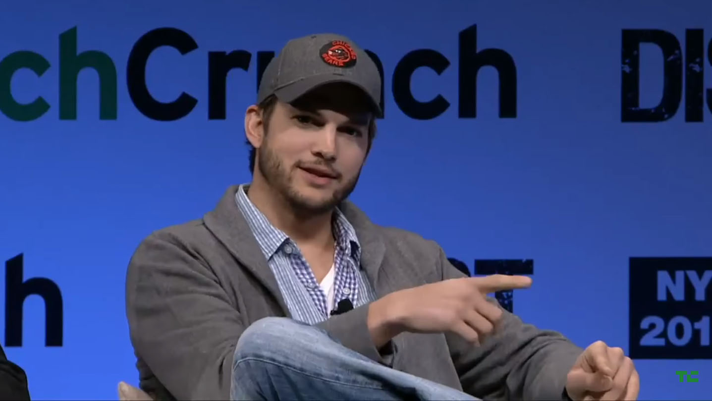 Ashton Kutcher and Guy Oseary of A-Grade | Disrupt NY 2013 Fireside Chat